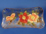 Lovely Vintage Royal Doulton 'Wild Rose' Sandwich Tray D6227 c1940